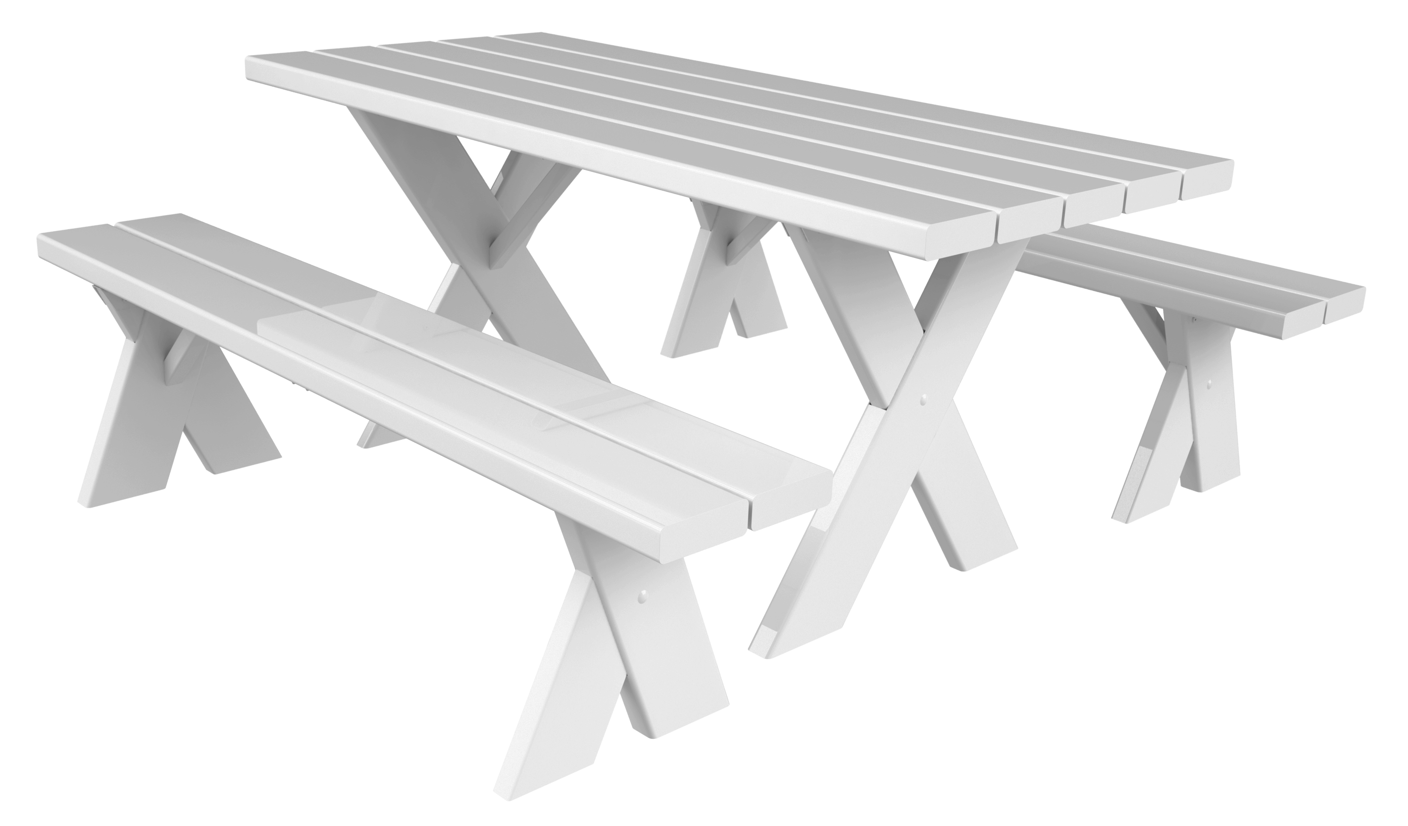 By White Wood Picnic Table Parlani Party Rentals Los - Picnic table los angeles